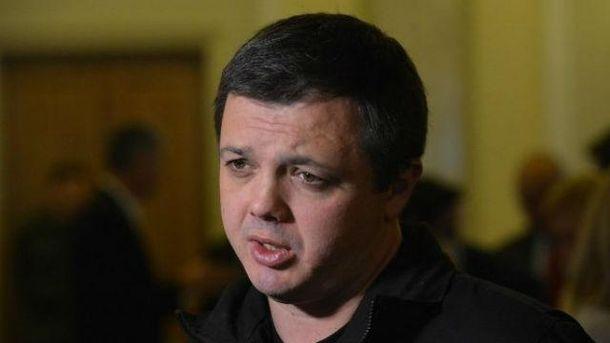 Семенченко надбавку будет отдавать на армию