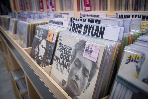 Боб Дилан молчит