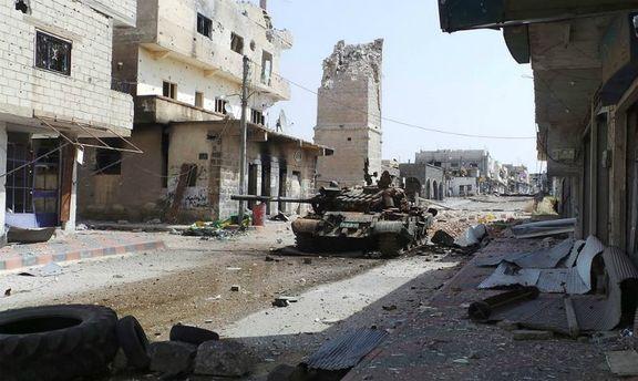 Танк в Сирії