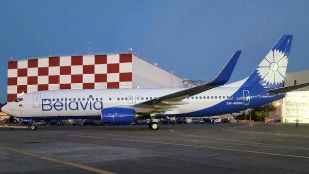 Білоруський літак з Києва вилітав двічі