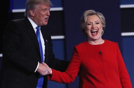 Клінтон та Трамп