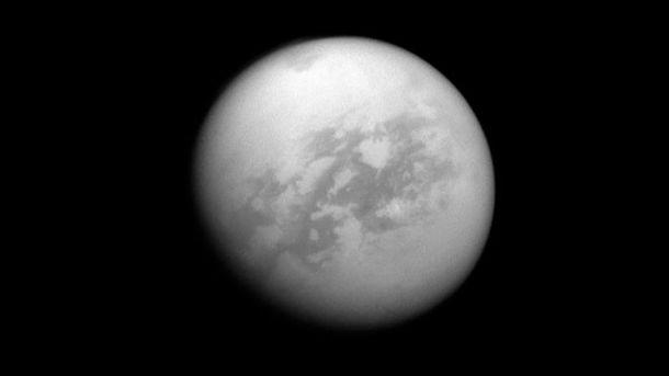 Cупутник Титана – Сатурн