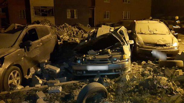 Последствия взрыва в Рязани