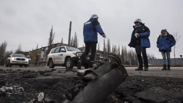 Місія ОБСЄ побоюється мін на окупованому Донбасі