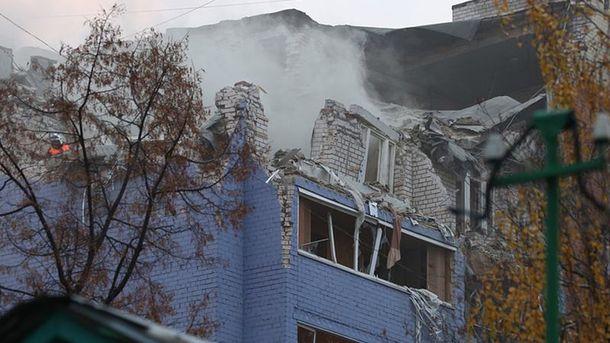 Взрыв в российской Рязани