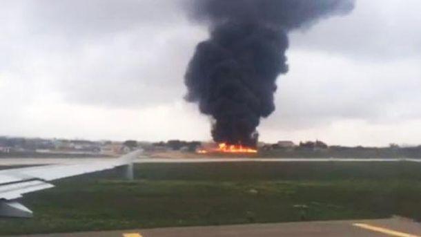 На Мальте разбился самолет