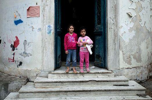 Діти-біженці з Сирії