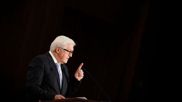 Франк-Вальтер Штайнмайєр хоче зберегти Євросоюз