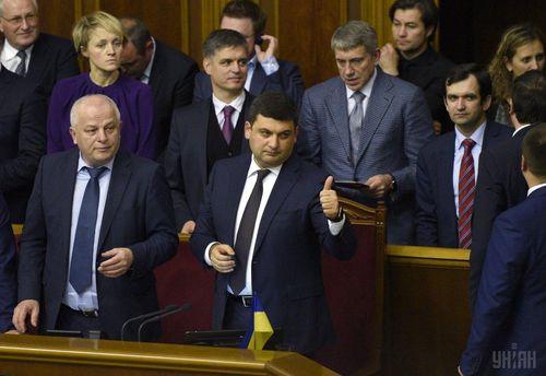 Гройсман остался очень доволен голосованием парламентариев