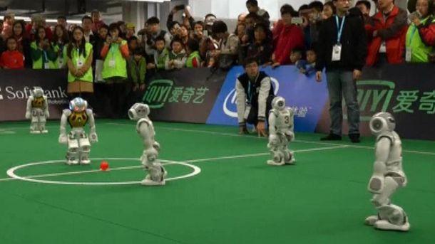 Роботи-футболісти