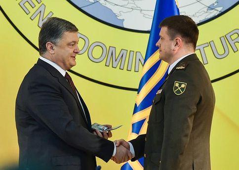 Петро Порошенко і Василь Бурба