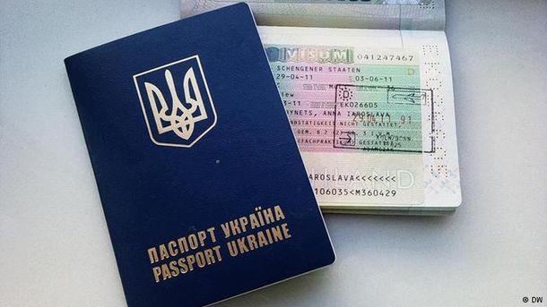 Закордонний паспорт громадянина уУкраїни