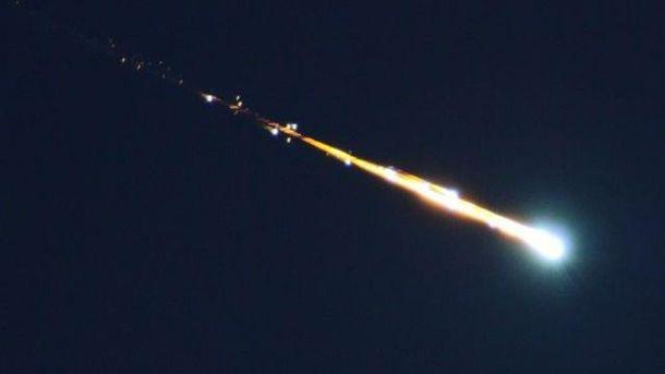 Метеорит. Ілюстрація