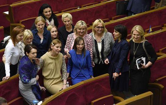 Женщины-депутаты Верховной Рады