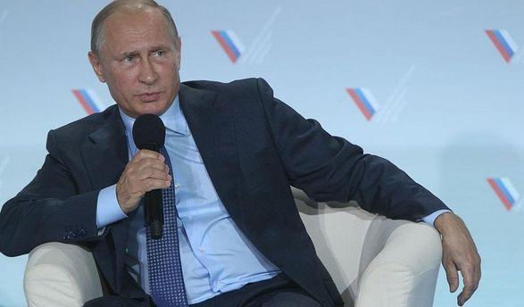 Владимир Путин в Крыму