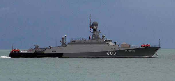 НАТО настороже: два российских корабля с ракетами вошли в Балтийское море