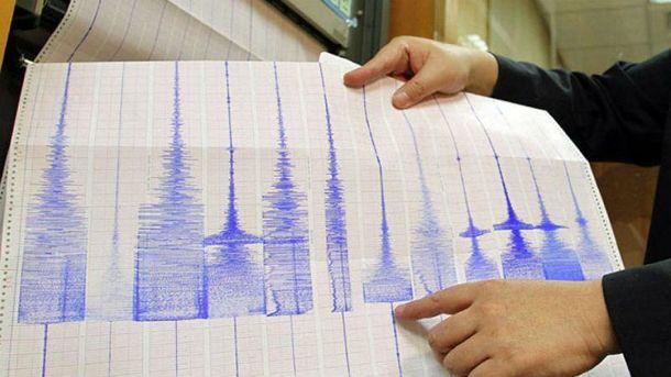 Землетрус був з магнітудою 5,4 бали