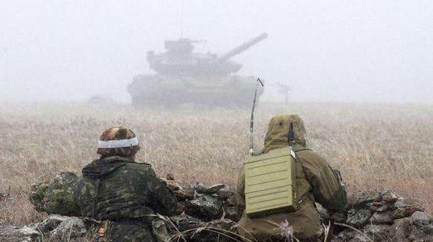 Враг использовал танки для обстрела