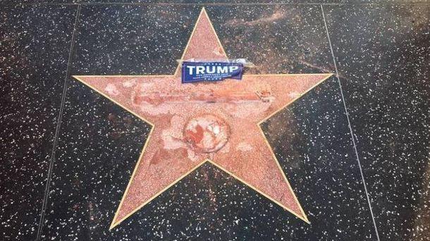 Звезда Дональда Трампа