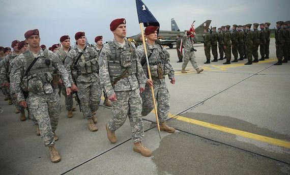 Военные США на обучении в Польше