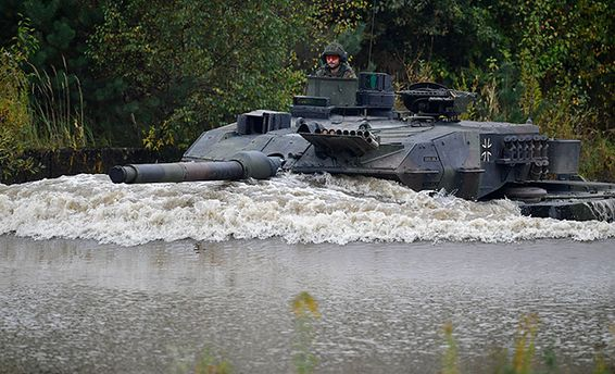 Танк Leopard 2