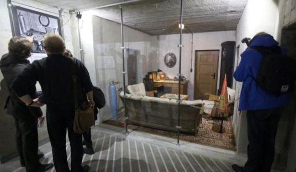 Копия бункера Гитлера