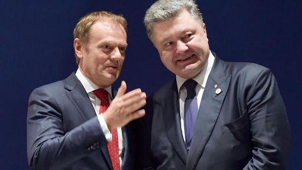 Петро Порошенко і Дональд Туск