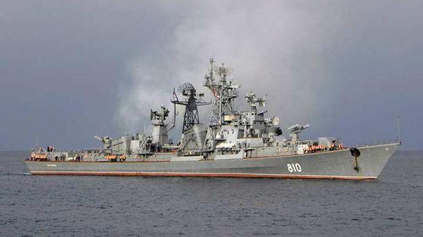 Россия отправила из Крыма боевой корабль в Сирию, – СМИ