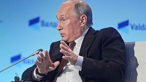 Путін навіть сам себе боїться