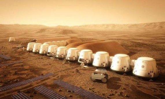 Дома на Марсе