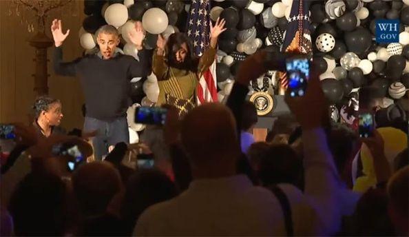 Зажигательные танцы Обамы