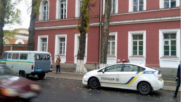 После взрыва в Кропивницком