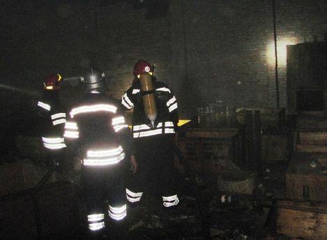 Спасатели на заводе