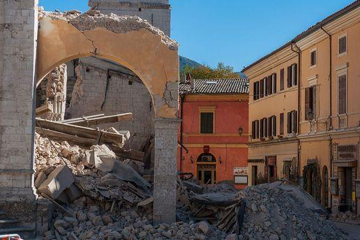 Землетрус в Італії