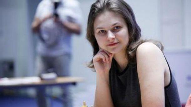 Ганна Музичук у трійці найсильніших шахісток світу