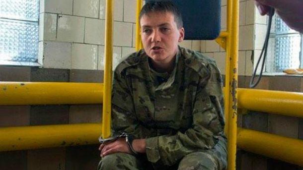 Надежду Савченко боевики похитили в июне 2014