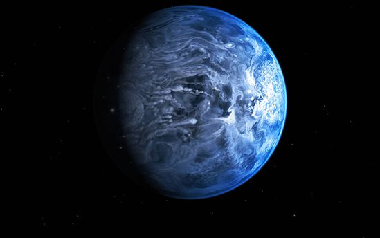 Ученые обнаружили планету ссамой плохой погодой