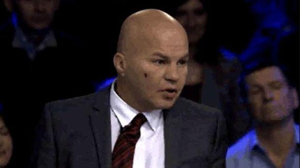 Вячеслава Ковтуна избили в перерыве прямого эфира