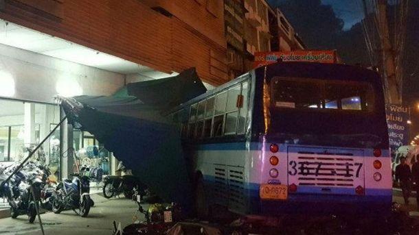 Аварії в Таїланді