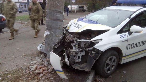 Авария полицейских