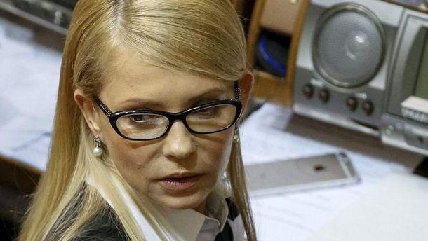 Упродовж багатьох років мета у Тимошенко одна