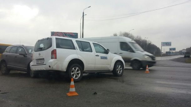 Машина миссии ОБСЕ
