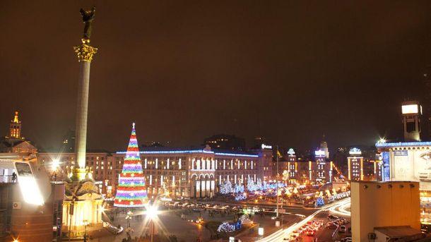 Новогодний Майдан Незалежности