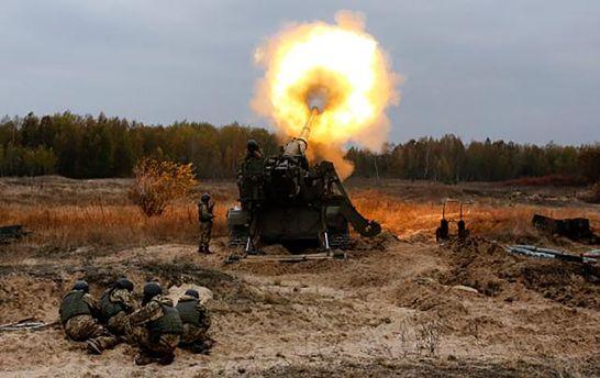 Обучение украинских военных