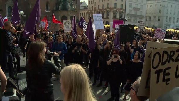 Протест у Польщі