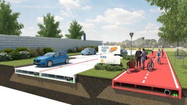 Дороги будущего появятся в Нидерландах уже в следующем году