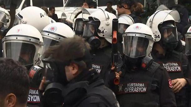 Поліція розігнала мітинг
