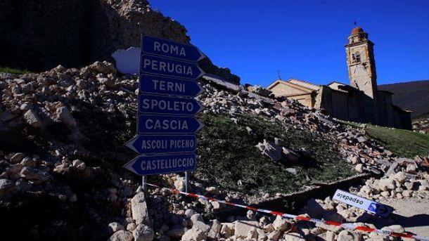 Италия с лета страдает от подземных толчков