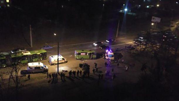 Смертельная авария в Харькове