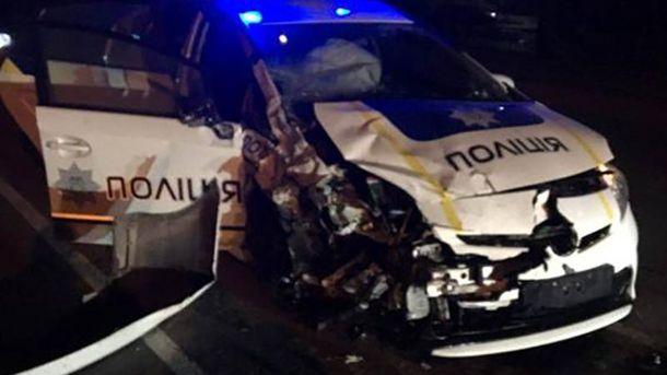 За кермом авто перебував 26-річний поліцейський